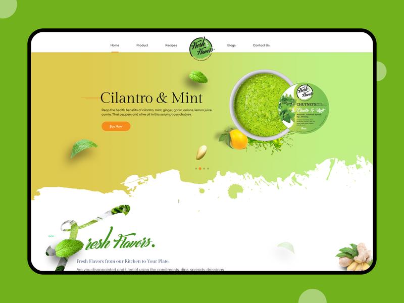 Fresh Flower Web website design website branding illustration onboarding ui design
