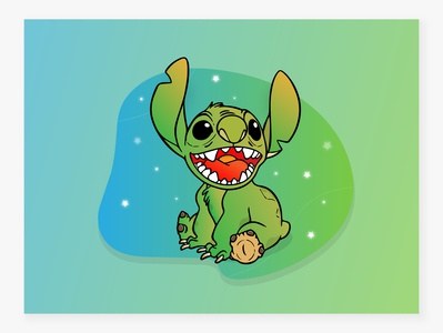 Cute monster LILO & STITCH