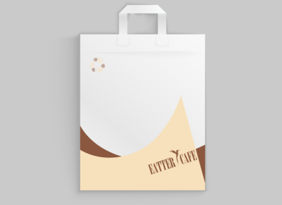 eatter cafe bag branding