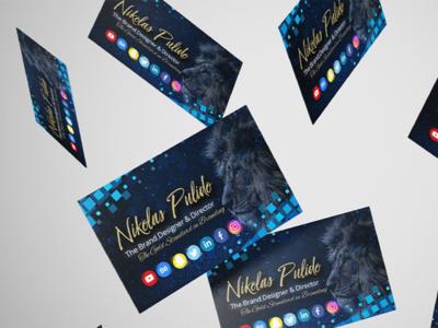 Business Card Design - Branded & Creative for Nikolas Pulido