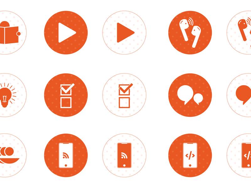 Icons illustration graphic design icon design icon set icons iconography