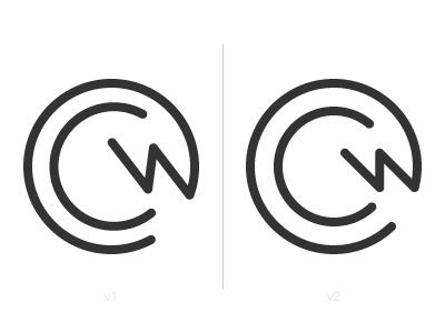 CWC Monogram Progression monogram branding brand logo