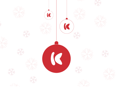 Happy Holidays! corporate krimson red happy holidays holiday christmas bauble festive