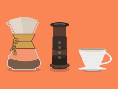 Brewing Methods caffeine brewing brew v60 aeropress chemex coffee