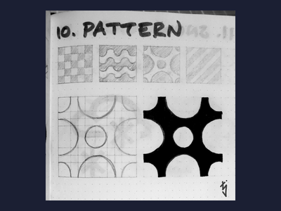 Inktober Day 10 - Pattern circles logo design logo ux ui icon design icondesign icon pattern inktober2019 inktober