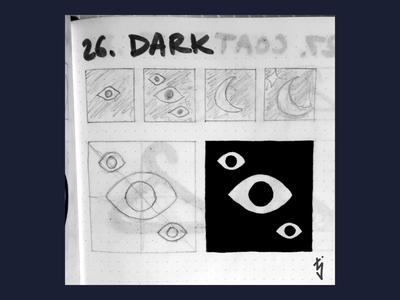 Inktober Day 26 : Dark creature lurking monster eyes eye logo design logo ui ux icon design icondesign icon dark inktober inktober2019