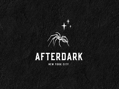 Afterdark NYC spider spider logo branding logo design design illustration logo