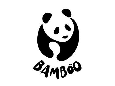 Bamboo logo design panda bear logodesign logo panda illustration panda logo