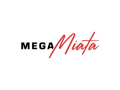 Mega Miata logo design branding logo design logodesign logo miata