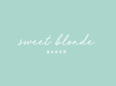 Sweet Blonde Baker