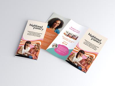 Highland Pantry Brochure print design brochure brochure design cannabis