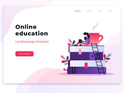 online education header