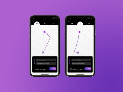 Daily UI 020_Location Tracker