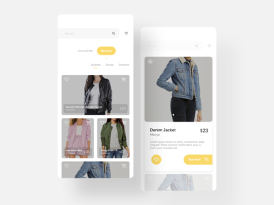 E-commerce App for Fashion Products