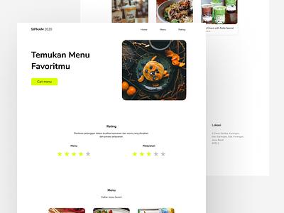 SIPMAM - Website Design (Desktop) website design website web ux ui desktop design desktop designs design app