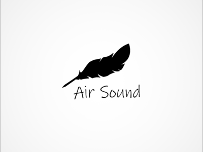 Logo Design - Air Sound branding vector logo design