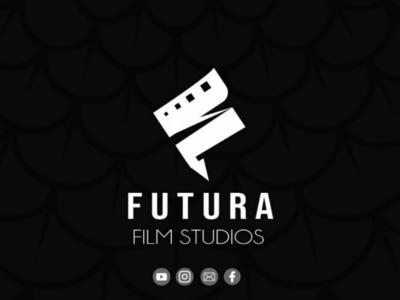 Futura film studios Logo studio production house brand identity branding design logo
