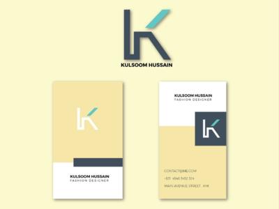 Kulsoom Hussain designer Branding brand identity branding design logo