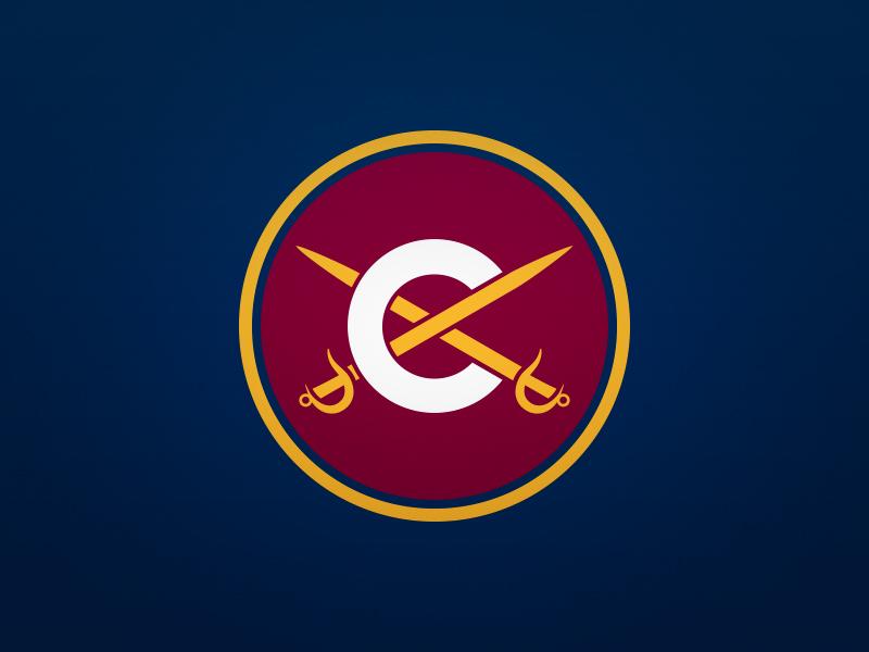 Cleveland Cavaliers Alternate Logo By Derek Mack Dribbble