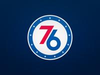 Philadelphia 76ers Alternate Logo