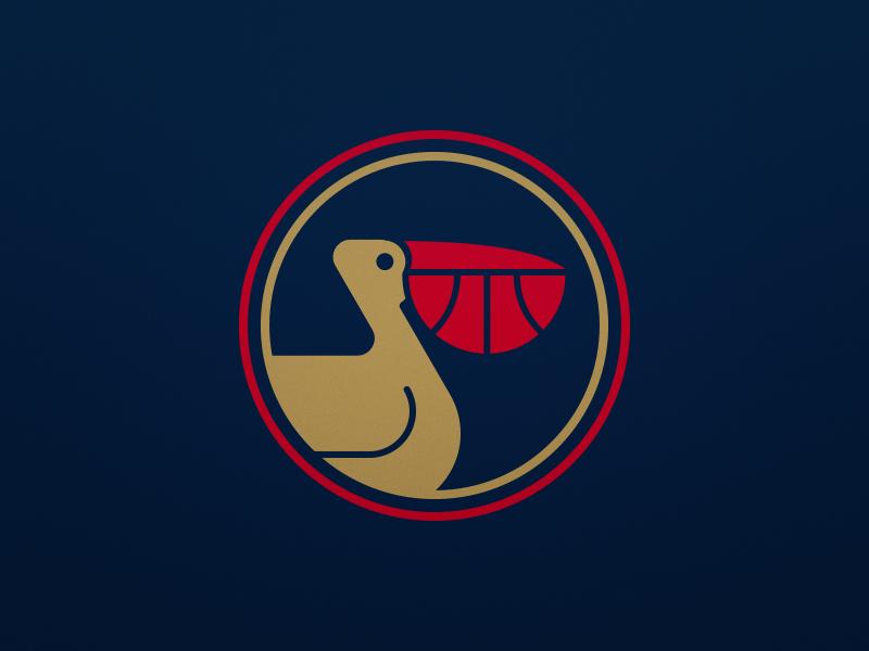 New Orleans Pelicans Alternate Logo By Derek Mack On Dribbble