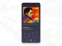 Music Player Daily Ui 009