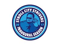 Stroll City Inaugural Season Patch