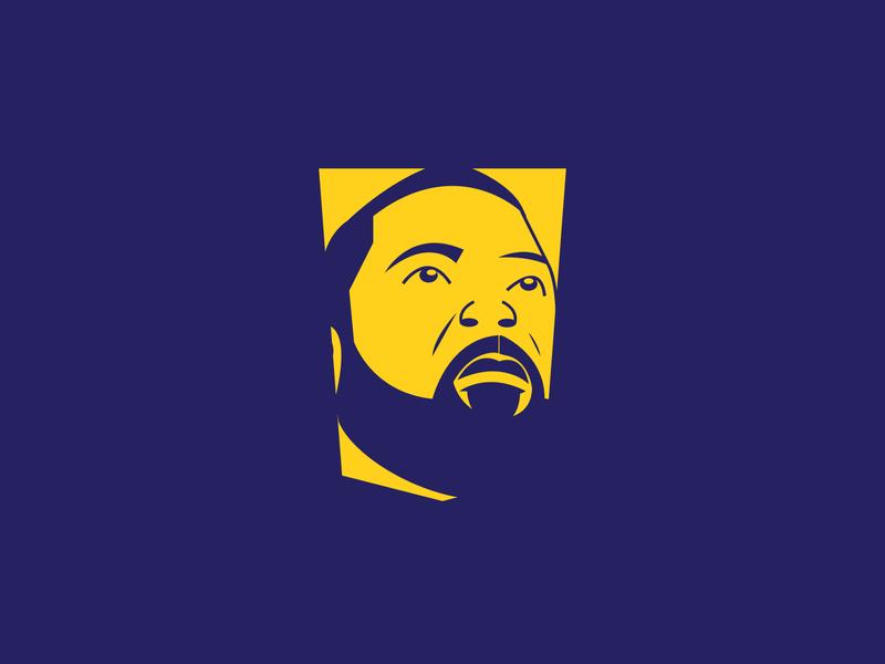 Dr. Ruff face art portrait vector band music illustration branding logo