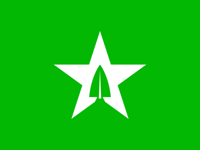 Star City dc comics tv arrow star city branding city vector illustration branding logo