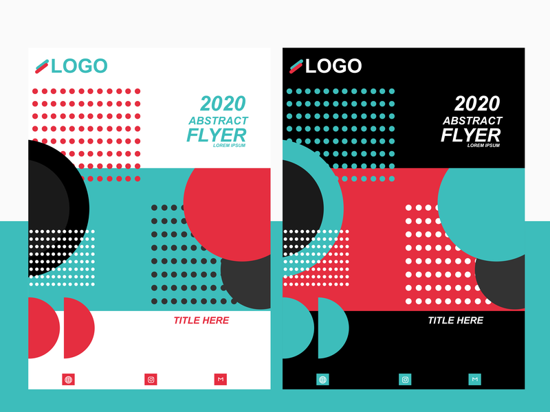 2020 Graphic Design Trends.Abstract Trends Flyer 2020 By Abahreyn On Dribbble