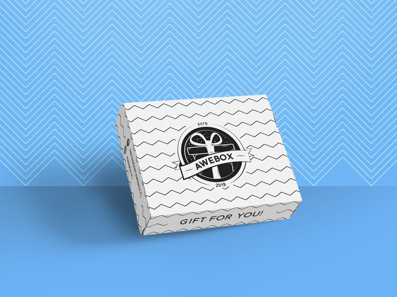Design for Gift Box illustration packaging design package design logo design