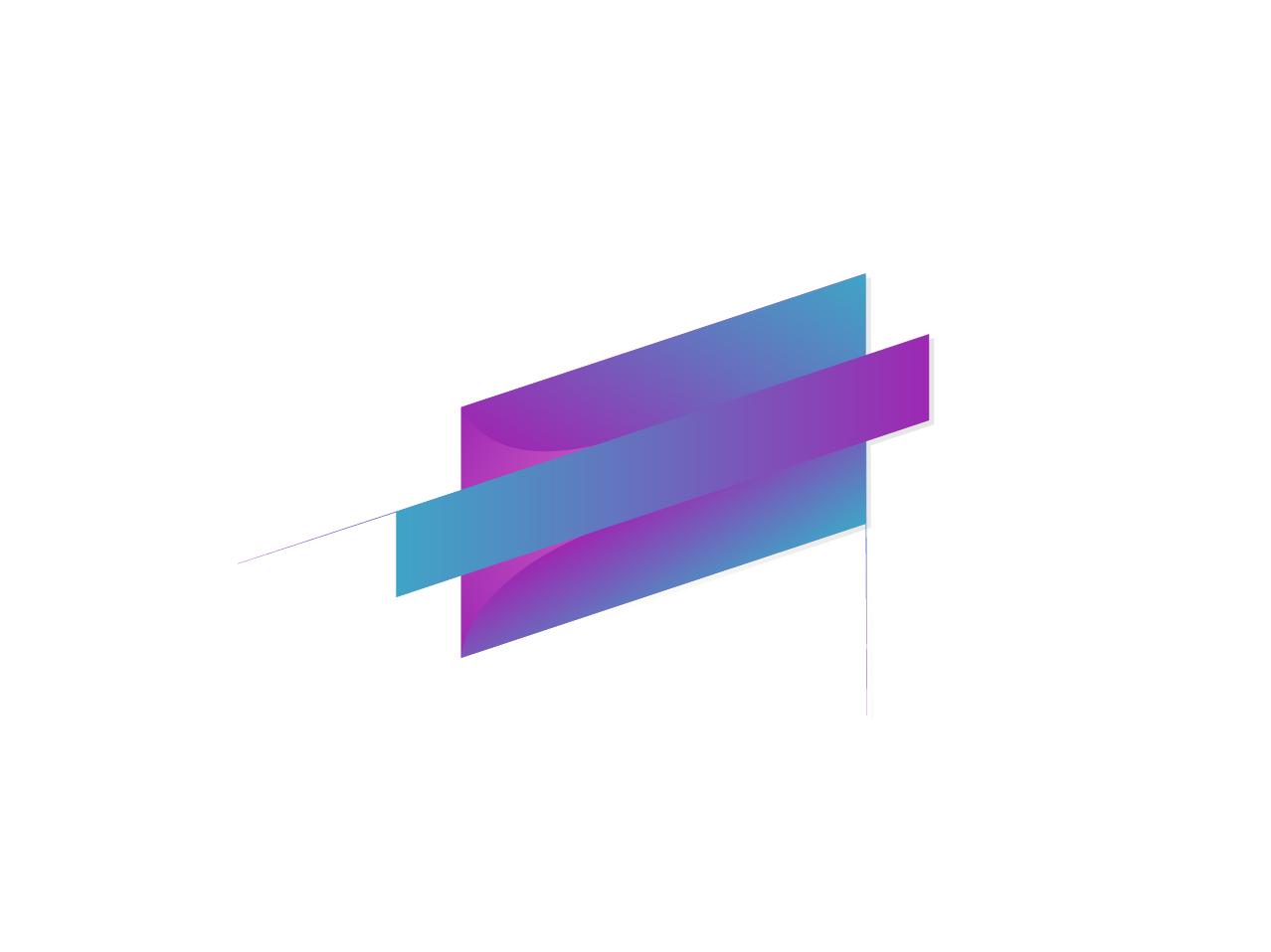 Logo Design for Business Company color web minimal vector branding logo illustration design