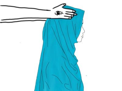 Illuminati Hijab