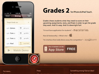 Grades 2 Site