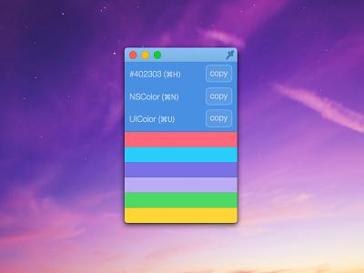 Colors - elegant color picker color picker osx yosemite mac