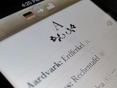 Languages Theme ios ui app iphone
