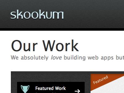Skookum Header header web dark