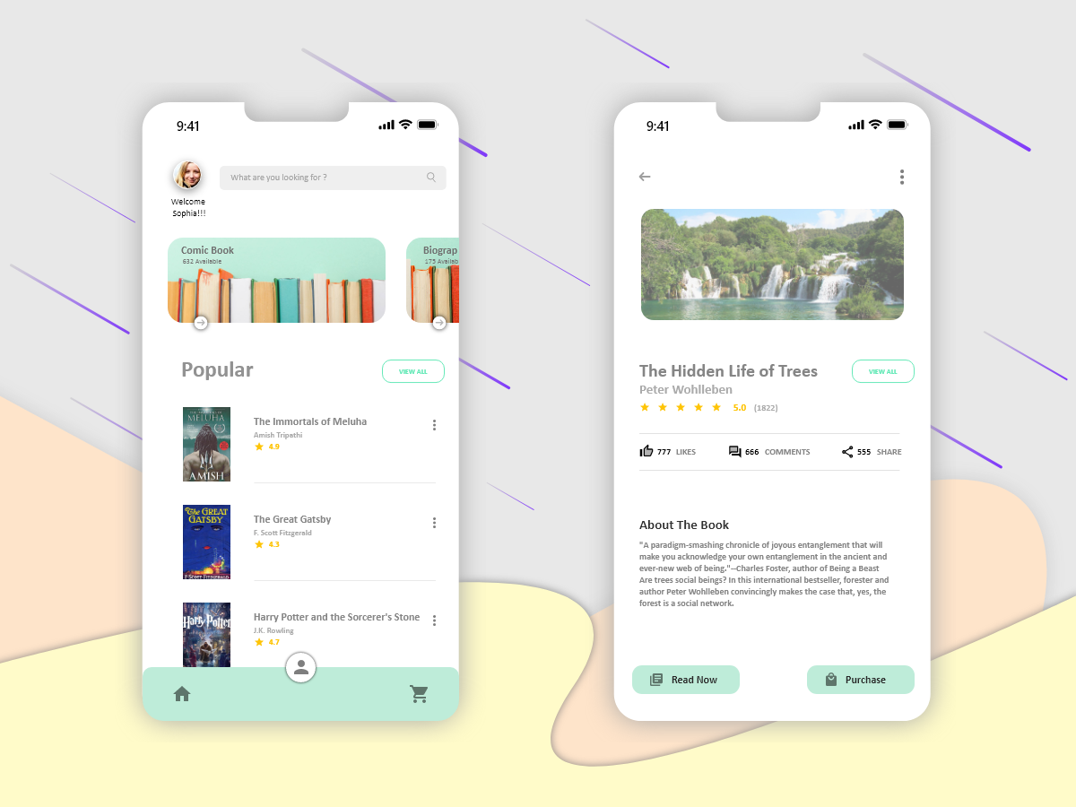 Book Store Application for IOS book store application
