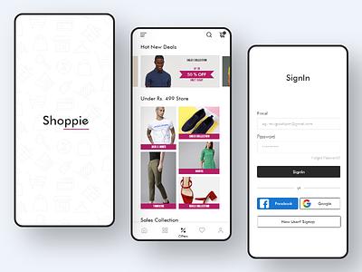 Ecommerce app UI ecommerce design uiux design clothing design shop app ecommerce app shopping app