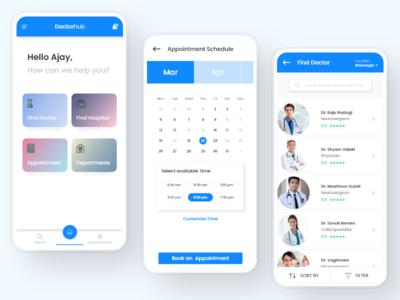 Doctor-hub - Medical consultancy UI