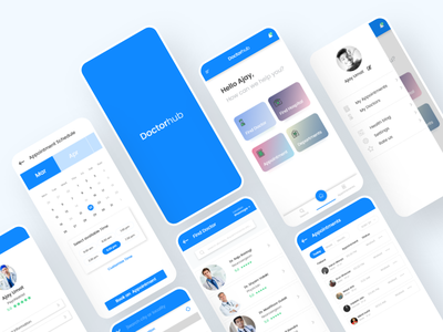 Doctor-Hub - Medical Consultancy UI doctor app consultancy activity pharmalogy pharmacy medical care medical android app design android iosapp ios design