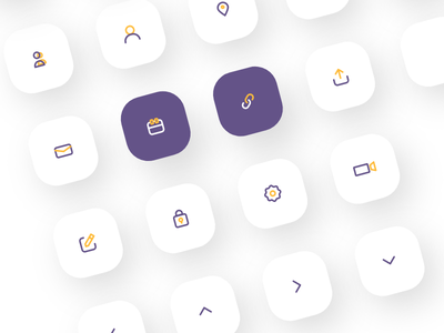 Icon Set - 1 uiux icon designer icons design icons pack icon set iconography icons icon android android app design iosapp ios