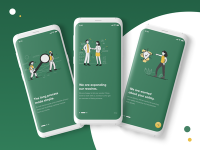 All In One-delivery app ux userinterface mobile design mobile android design android app animated android illustration ui android app design ios iosapp design