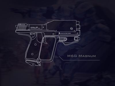 Halo M6G Magnum