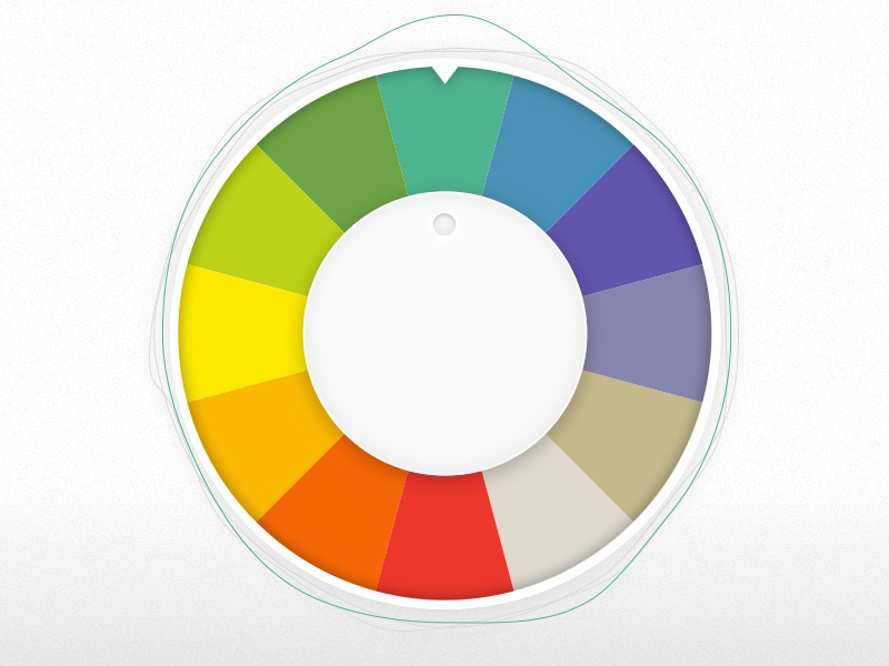 Colour Wheel colour wheel graphic lines rotate
