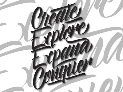 CREATE-EXPLORE-EXPAND-CONQUER