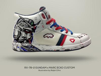 Gundam RX-78-2 x Marc Ecko Custom