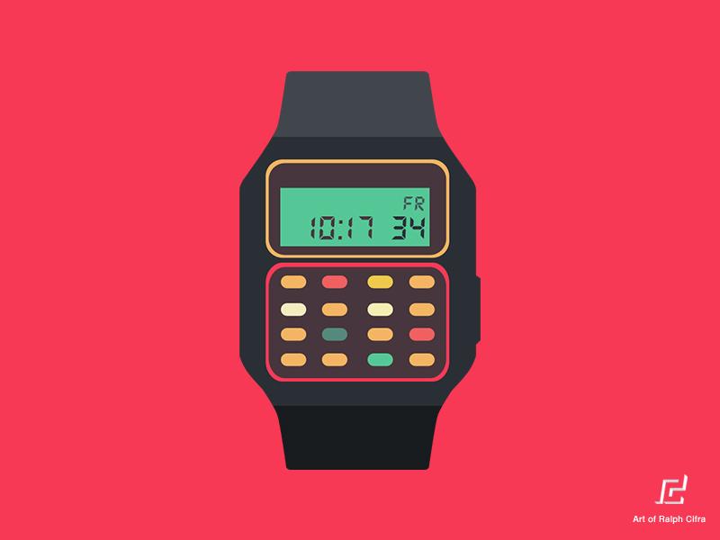 The gadget we miss: the calculator watch people & gadgets medium.