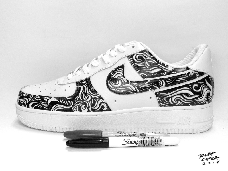 Nike Air Force 1 Custom Design By Ralph Cifra On Dribbble