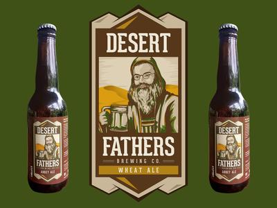DESERT FATHERS LOGO DESIGN